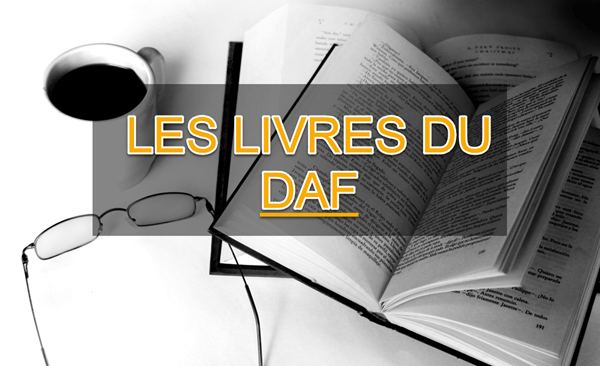 Vous êtes DAF (bientôt)? Voici une liste de livres à lire absolument