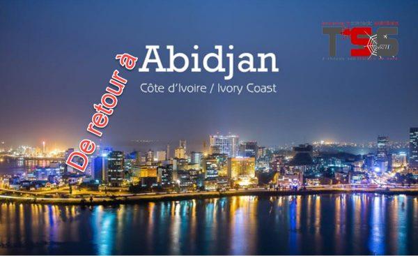 Me revoici à Abidjan, savez-vous quels sont mes projets ici?