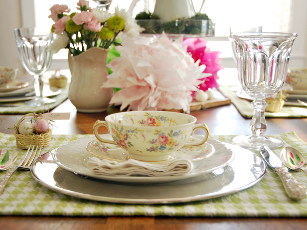 Ask T. Stevens Spring Table Settings To Try In Your Home