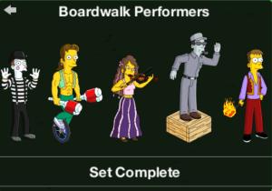 TSTO Squidport Boardwalk_performers