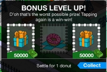 TSTO Bonus level up2