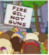 Fire Gil Not Guns