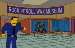 rock n'roll wax museum