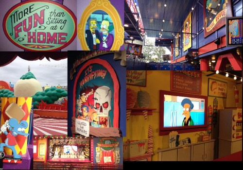 Inside Simpsons Ride