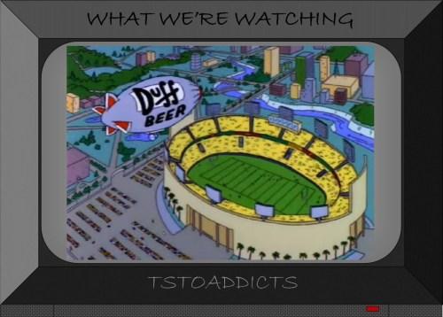 Duff Blimp Super Bowl