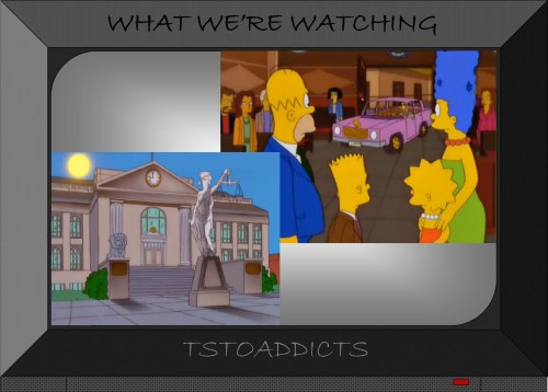 Simpsons Car Courthouse