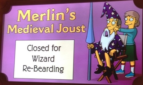 Merlin's Medieval Joust Krustyland