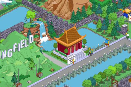 Buddhist Waterfall