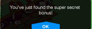 Stonecutter Table Secret Bonus free donuts