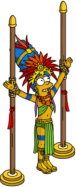 Mayan Marge wait to be sacrificed