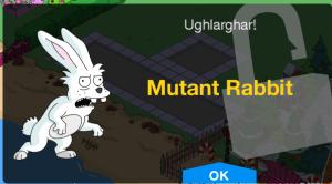 Mutant Rabbit Unlock Screen