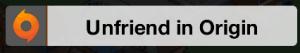 Unfriend In Origin Icon