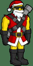 Bone Storm Santa