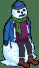Burns Fever Snowman