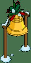Elf Toy Workshop Bell