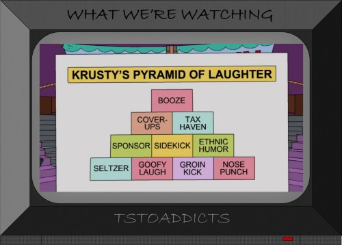 Krusty's Pyramid of Laughter Simpsons