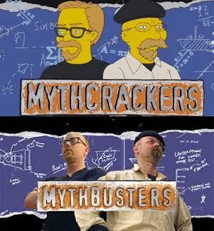 Mythbusters Mythcrackers Simpsons