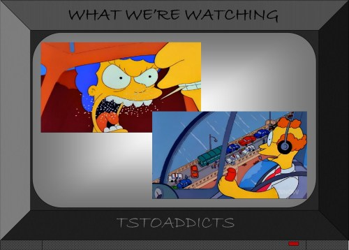 Marge Simpson nervous breakdown