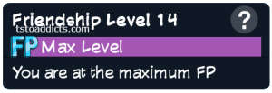 MAX Friendship Point Level 14