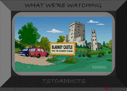 Blarney Castle Simpsons