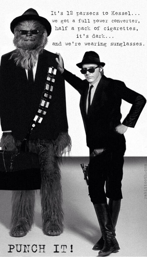 Han & Chewie Blues Brothers