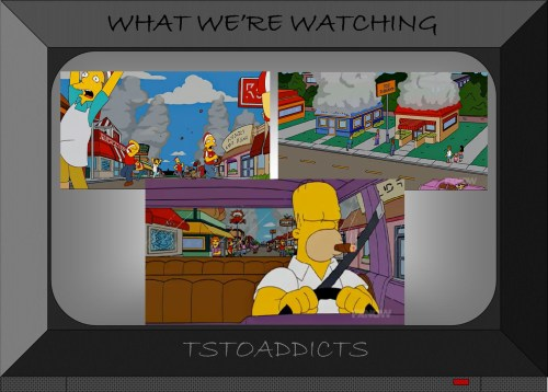 Fast Food Boulevard Simpsons