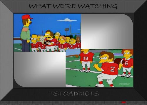 Football Nelson Simpsons