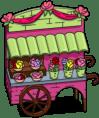 Lovely Flower Cart