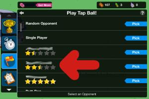 Play Tap Ball Friend List