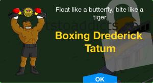 Unlock Screen Day 5 Boxing Drederick Tatum