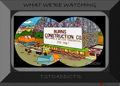 Burns Construction Co Simpsons