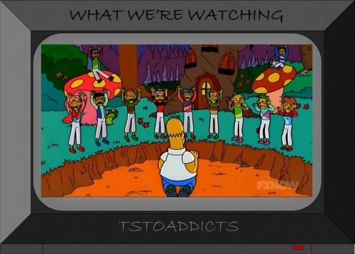 Jockeys Homer Simpson