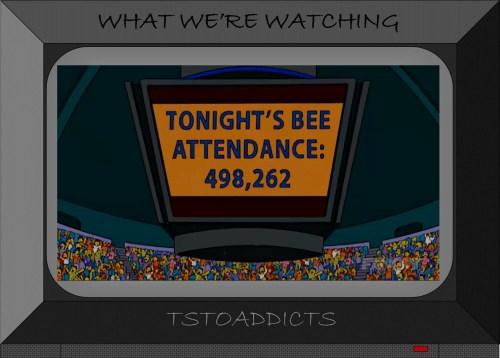 Jumbotron Bee Attendance Simpsons