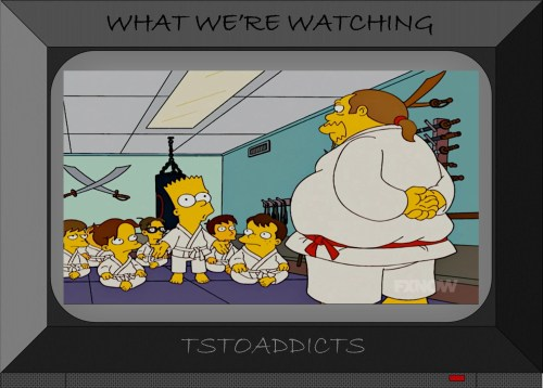 Kung Fu Comic Book Guy Simpsons 2