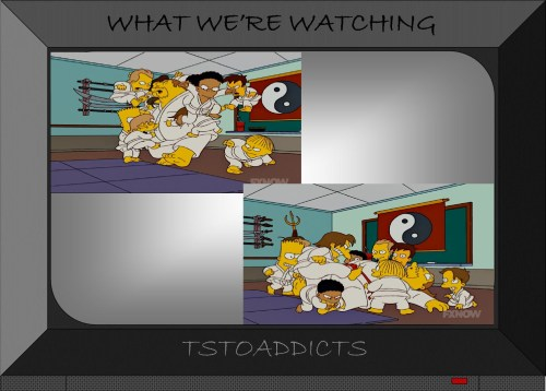 Kung Fu Comic Book Guy Simpsons 3