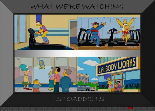 L.A. Body Works Simpsons 3