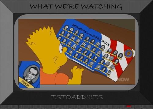 List of Presidents Simpsons Nixon