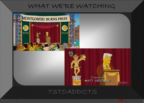 Montgomery Burns Prize for Excellence