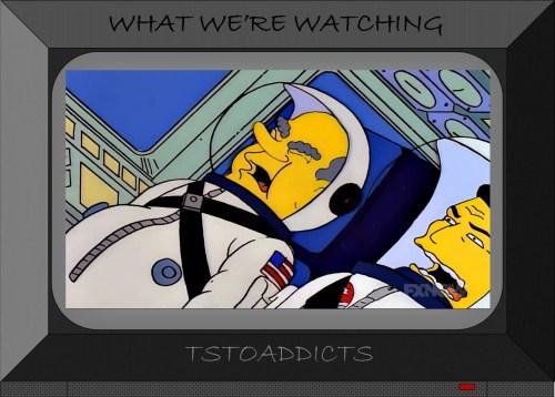 President Richard Milhous Nixon Astronaut Homer G-forces Simpsons