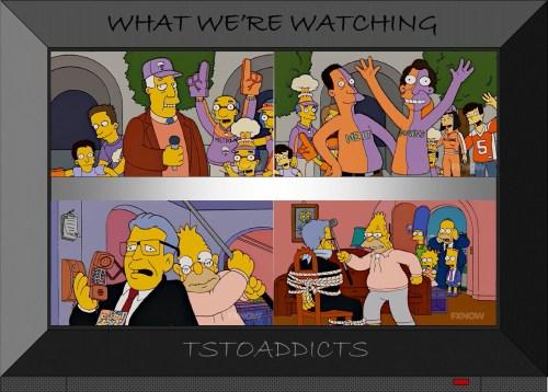 Springfield Meltdowns Grampa Commissioner Simpsons