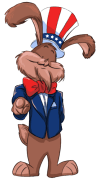 Uncle Sam Bunny