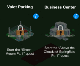 Valet Parking Business Center Locked