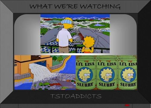 Little Lisa Recycling Plant Li'l Lisa Slurry Simpsons