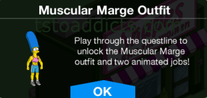 Muscular Marge Outfit
