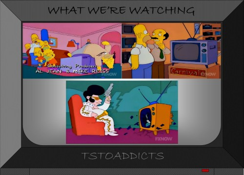 Broken TV Simpsons