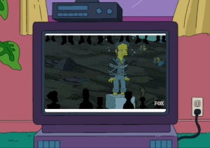 Frankie Underwater Itchy & Scratchy Land Ride