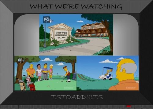 Golf Simpsons 6