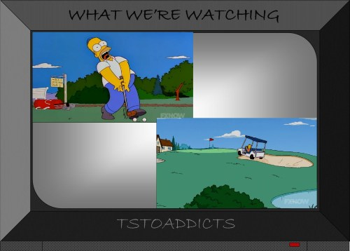 Golf Simpsons 8