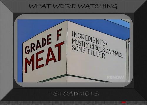 Grade F Meat Simpsons