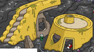 Planet of the Apes Yellow Building TSTO